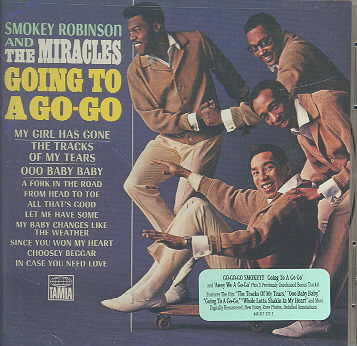GOING TO A GO-GO/AWAY WE A GO-GO BY ROBINSON,SMOKEY & T (CD)